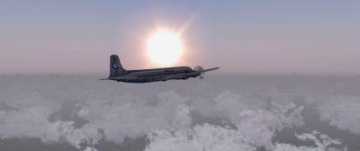 Cargo Flight Panama City To Mendoza Mission.