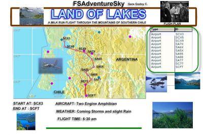 Chile Mission flight plan.