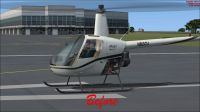 (Before) Robinson R22.