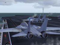 F-14 Ops On CV69-12 Mission.