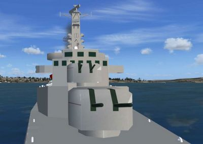 Features For Pilotable Destroyers Of The County Class.