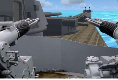 Features For The Battleships Of The Iowa Class.