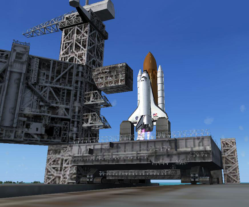 fsx space shuttle atlantis flight -#main