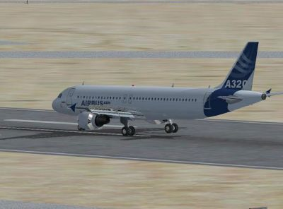 Flying The Airbus A320 Mission.