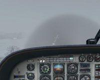 Foggy Landing at KLPR.