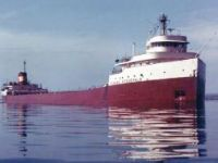 Great Lakes Freighter Edmund Fitzgerald.