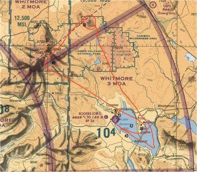 Mt. Lassen Scenic Mission.