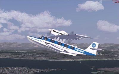 Pan Am Dornier Seastar 'Runaway Girl'.