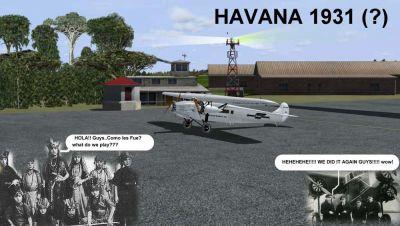 Pan American FSAdventureSky Flight.