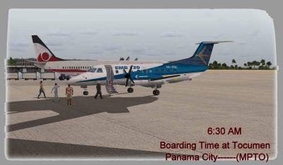 Panama Tourist Flight Adventure.