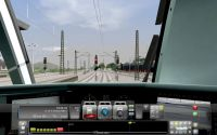 Train cabin.