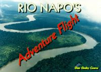 Rio Napo Adventure Flights Mission.