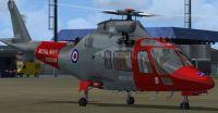 Royal Navy Agusta 109E Rescue Helicopter.