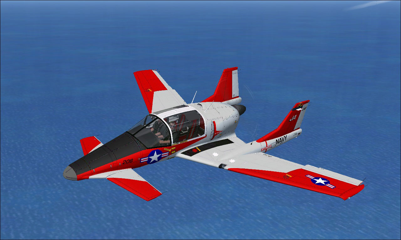 Sus scrofa ss4p navy trainer for fsx