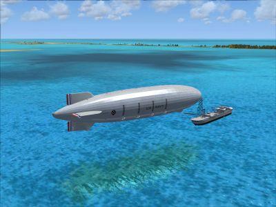 U.S.S. Macon ZRS-5 Airship.