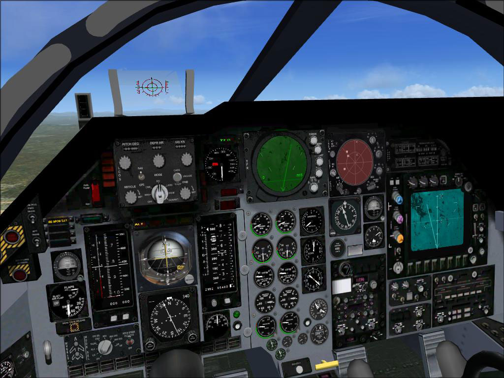 Alphasim/Virtavia F-111 Panel for FSX
