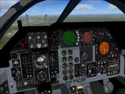 Old Alphasim/Virtavia F-111 Panel.