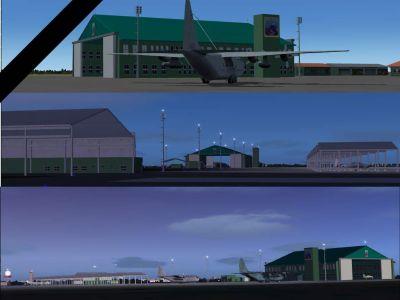 Boa Vista Int'l Airport Scenery.