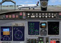 Bombardier CRJ 700-900 Panel.