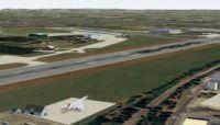 Bristol Filton Airfield Scenery.