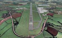 Cardiff International Airport Scenery.