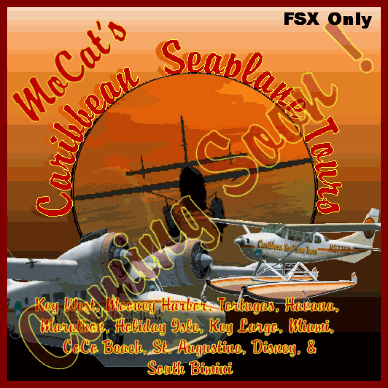 Caribbean Scenery FSX http://flyawaysimulation.com/downloads/files/6584/fsx-caribbean-seaplane-tours-florida-scenery/
