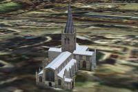 Chesterfield Parish Curch Scenery.