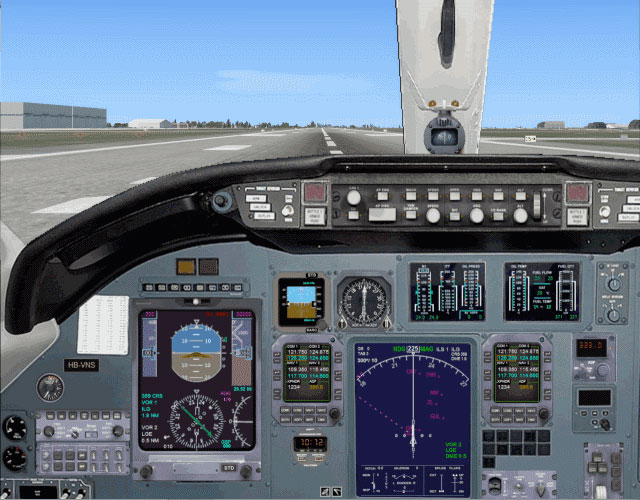 how to set local time in fsx
