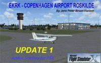 Copenhagen Airport Roskilde Scenery.