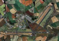 EGDA RAF Brawdy Airport Scenery.