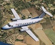 Embraer 120ER Brasilia Added Views.
