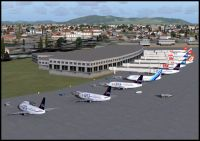 Fortaleza Airport Scenery.