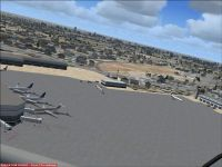 Fresno Yosemite Airport Scenery.