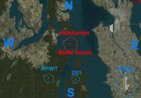 Hideaways - Blake Island Scenery.