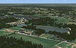 Karksi Airfield Scenery.