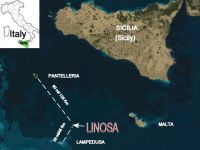 Linosa Island Scenery.
