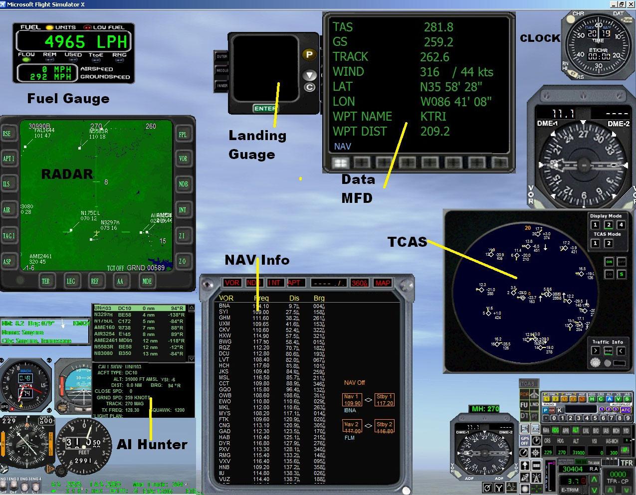 mini panel for fsx Home Flight Simulator Cockpits Aircraft Cockpit Simulator