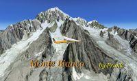 Mont Blanc Photorealistic Scenery.