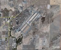 Nellis Air Force Base Scenery.