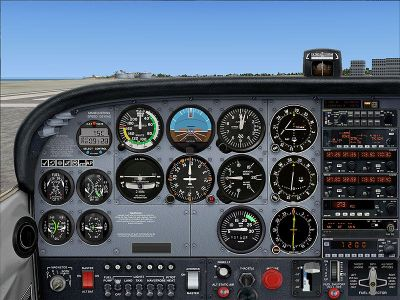 Panel And FDE For Default Cessna 172SP.