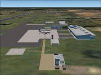 Porto Velho Int'l Airport Scenery.