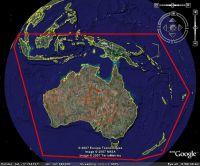 SRTM Mesh For Australia Scenery.