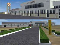 Santarem Airport Scenery.