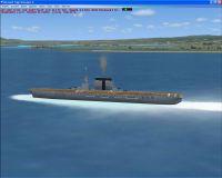 USS Saratoga CV-3 Scenery.
