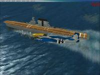 USS Saratoga Scenery.