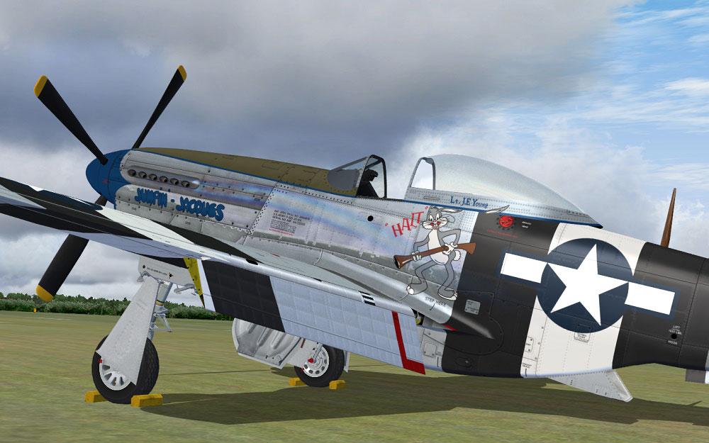 Warbirdsim S P 51d Mustang Cadillac Of The Skies Series