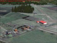 Airfield Ahrenlohe Scenery.