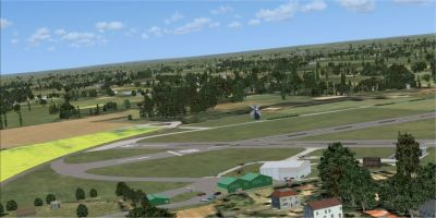 Alf's UK Airfields Volume 14 Scenery.