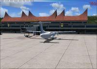 Bandar Udara Internasional Scenery.