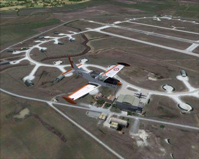 Bandirma Air Base VFR Scenery.